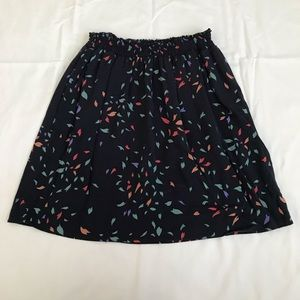 Dark Blue Skirt with Pockets